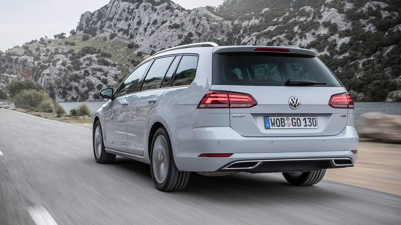 Volkswagen Golf VII Variant - Heckansicht
