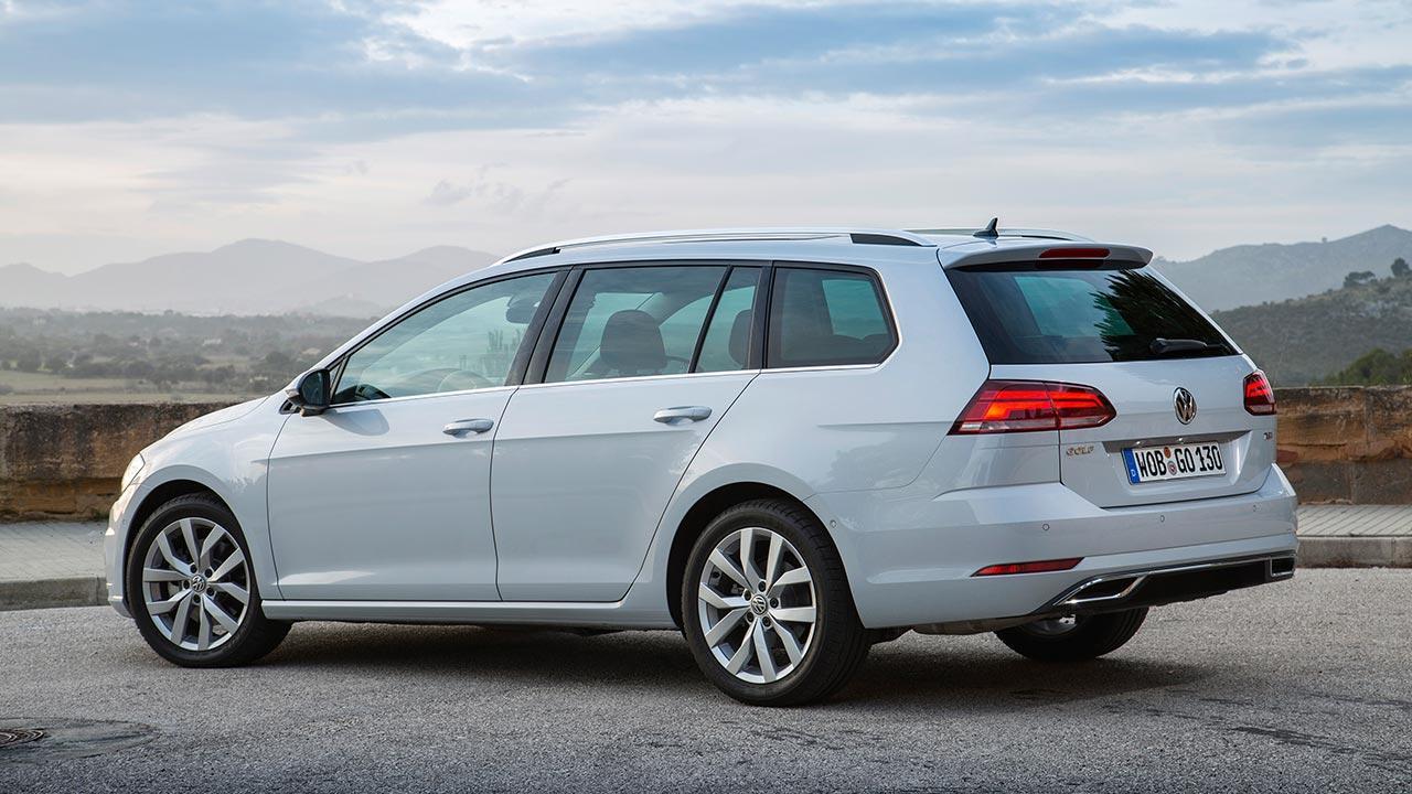 Volkswagen Golf VII Variant - Seitenansicht