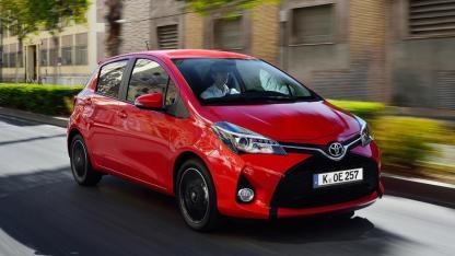 Toyota Yaris - in voller Fahrt