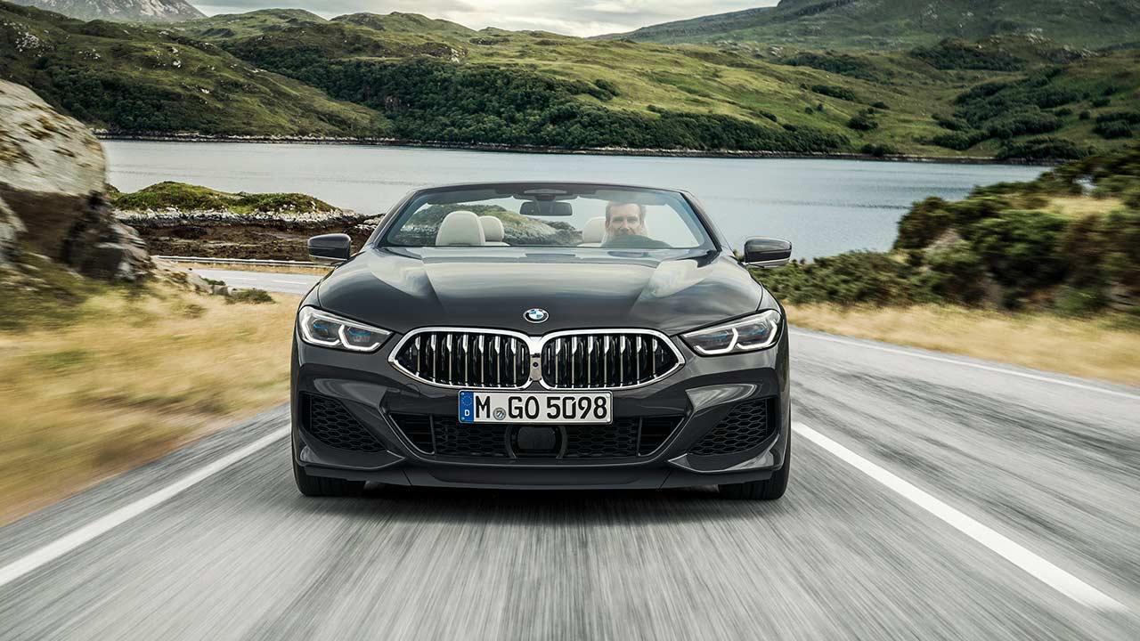 BMW 8er Cabriolet - Frontansicht