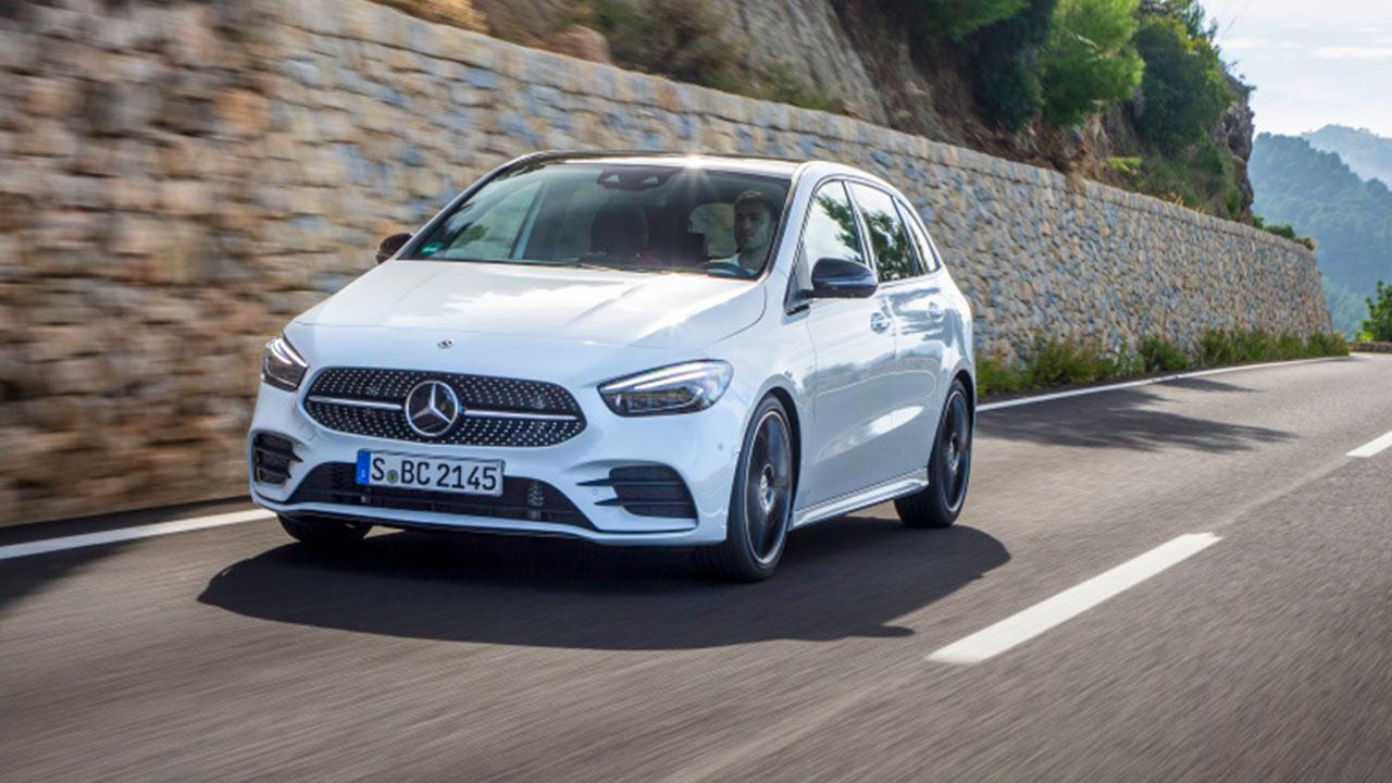 Mercedes-Benz B-Klasse - in voller Fahrt