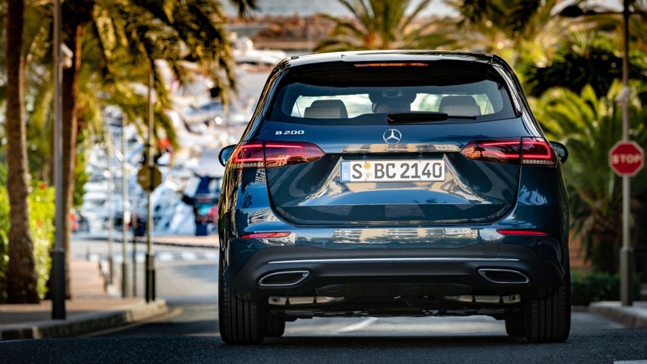 Mercedes-Benz B-Klasse - unter Palmen