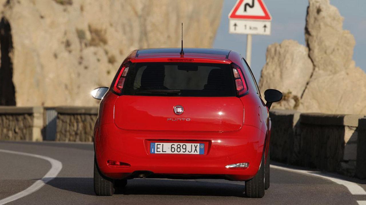 Fiat Punto - Heckansicht