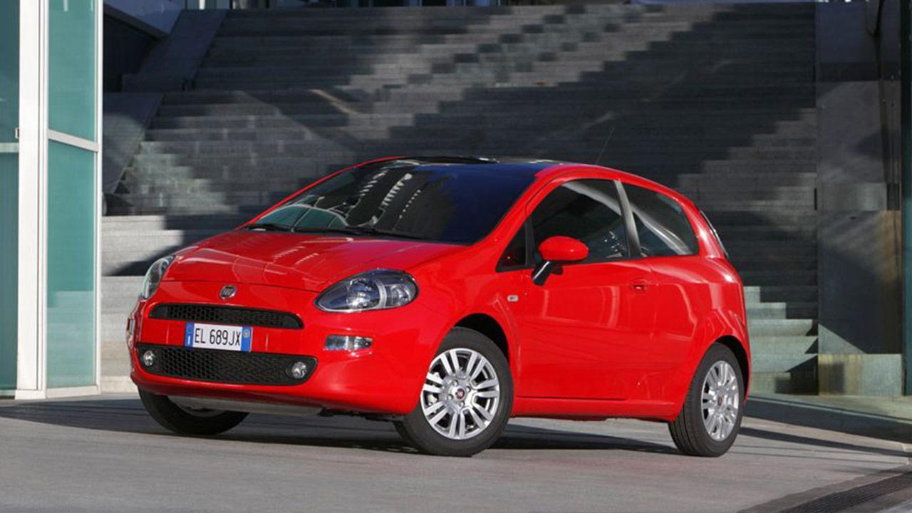 Fiat Punto - Seitenansicht