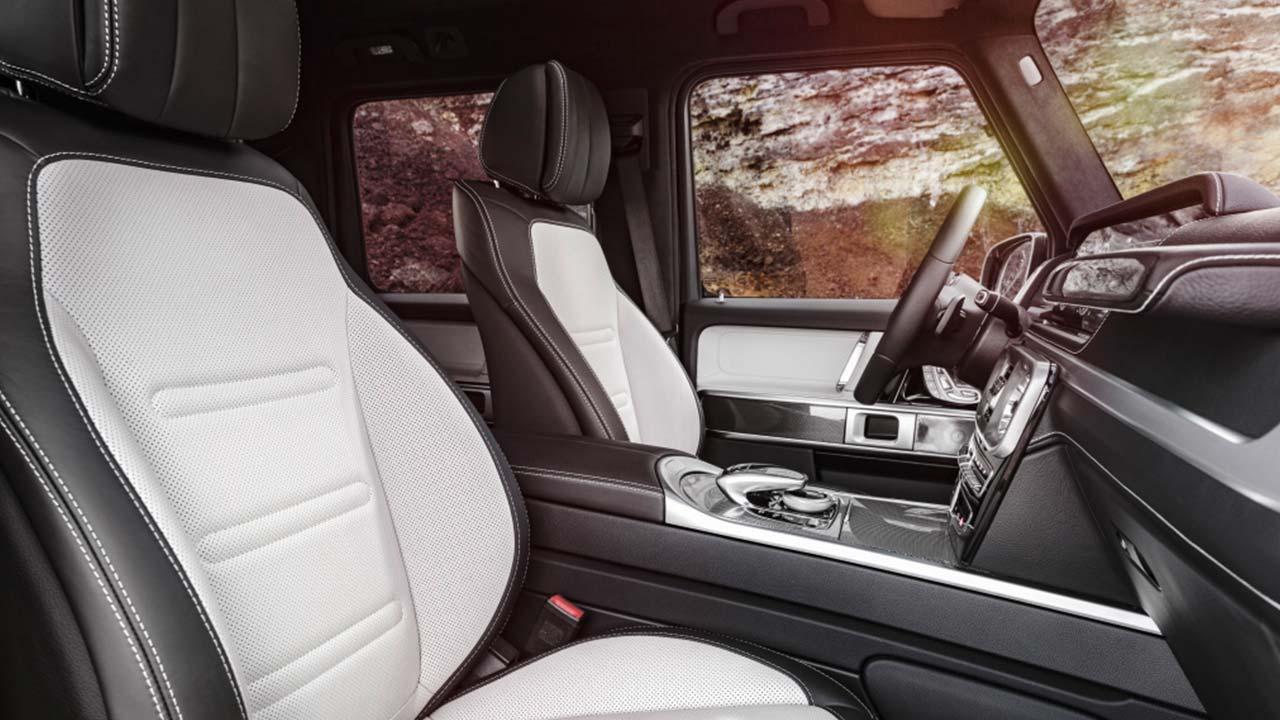 Mercedes-Benz G-Klasse 2018 - Vordersitze