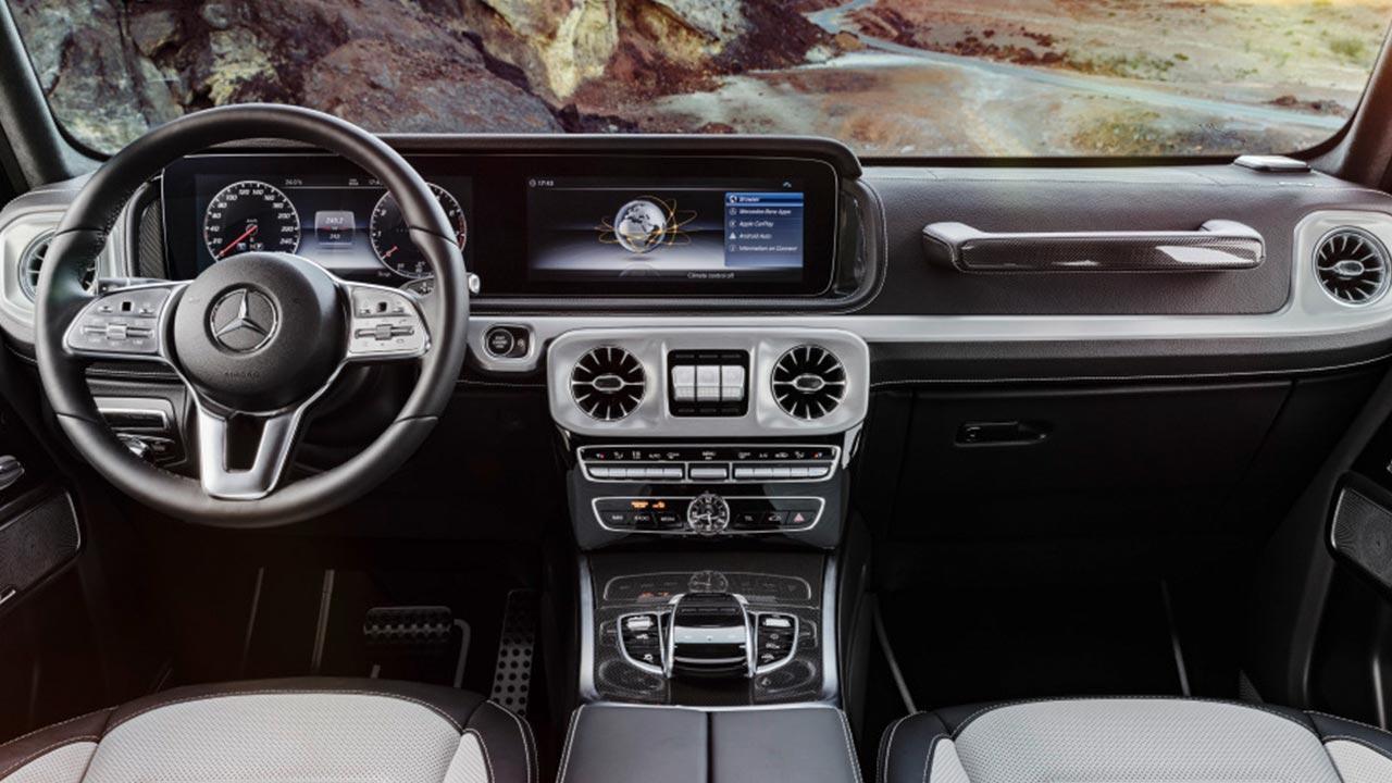 Mercedes-Benz G-Klasse 2018 - Cockpit