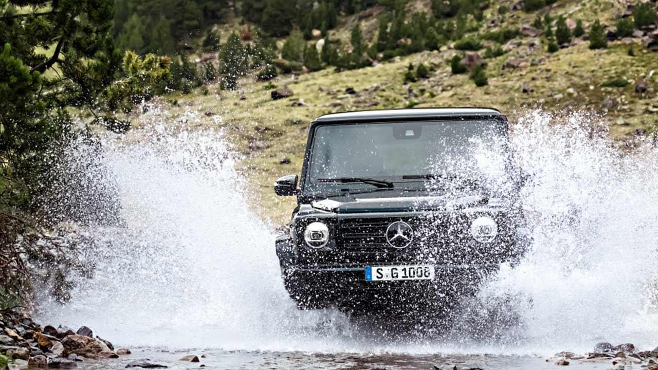 Mercedes-Benz G-Klasse 2018 - durchs Wasser
