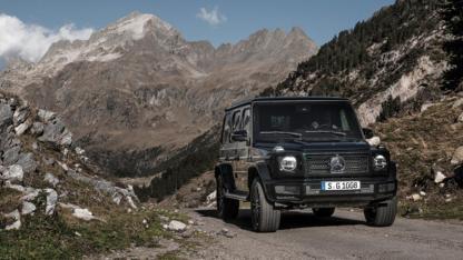 Mercedes-Benz G-Klasse 2018 - in den Bergen