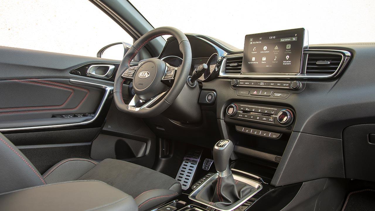 Kia Ceed GT - Cockpit