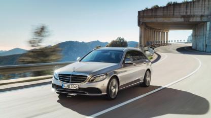Mercedes-AMG C 43 4MATIC T-Modell - in voller Fahrt