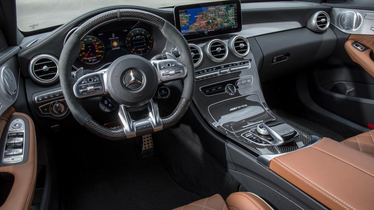 Mercedes-AMG C 63 S T-Modell - Cockpit
