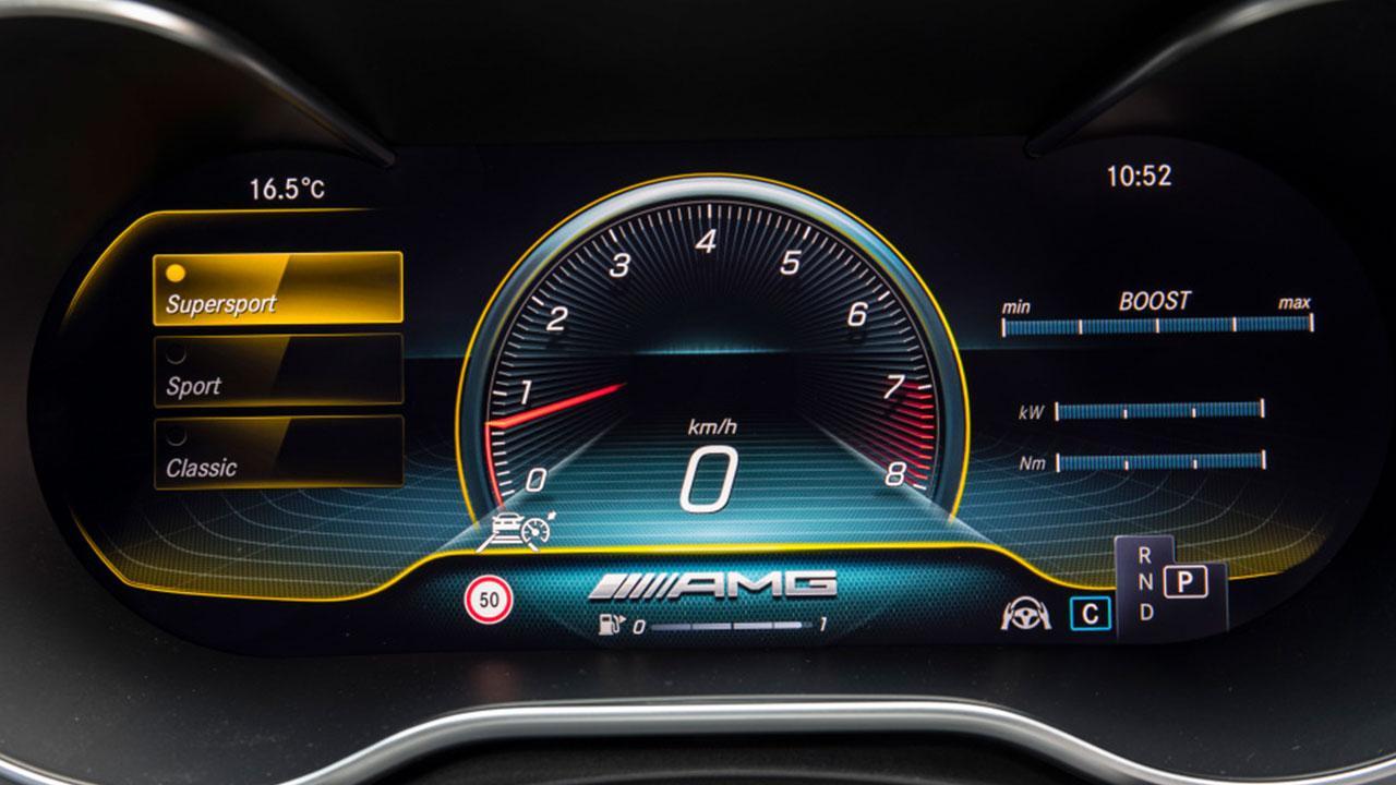 Mercedes-AMG C 63 S T-Modell - Anzeige