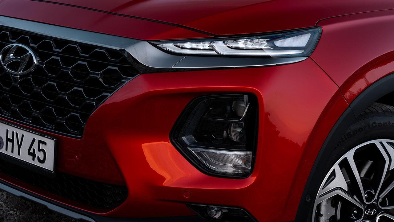 Hyundai Santa Fe - Kühlergrill
