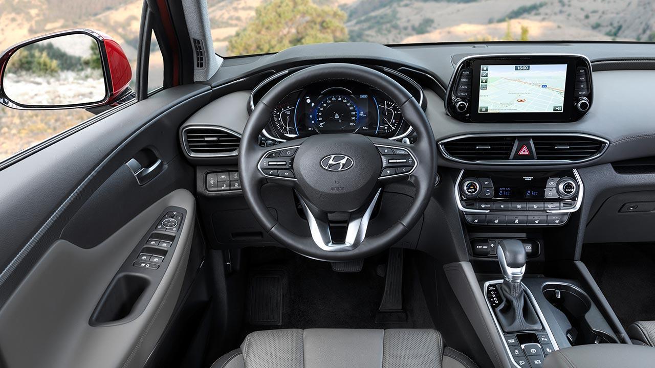 Hyundai Santa Fe - Cockpit