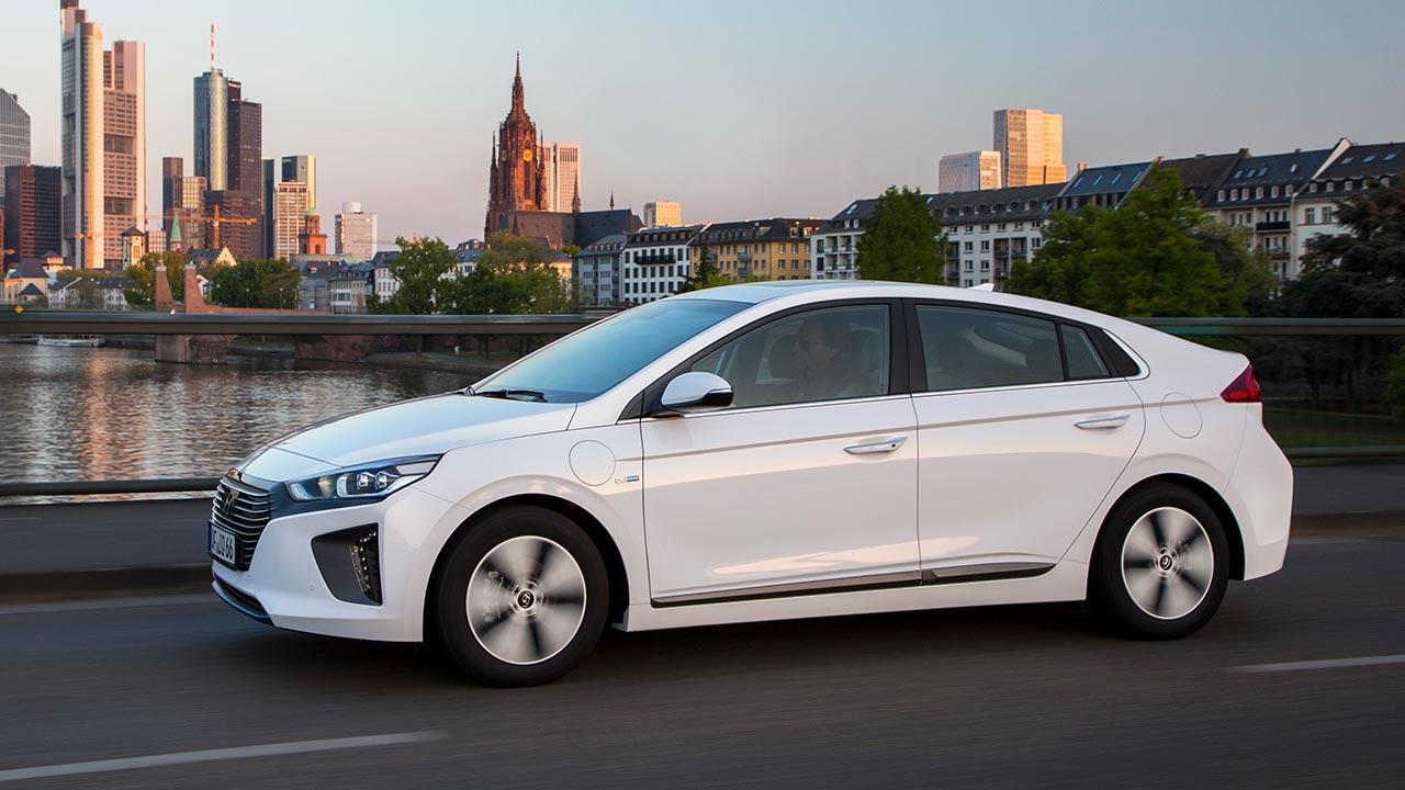 Hyundai Ioniq Elektro - Seitenansicht