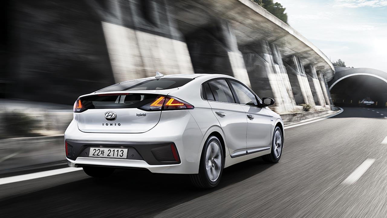 Hyundai Ioniq Elektro - Heckansicht