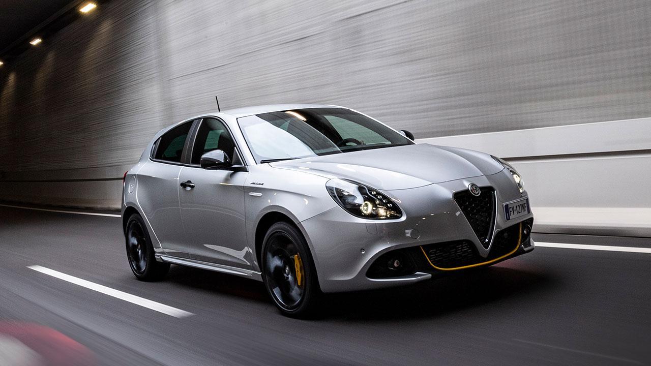 Alfa Romeo Giulietta - in voller Fahrt
