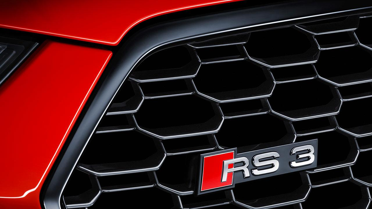 Audi RS 3 Limousine 2017 - Kühler