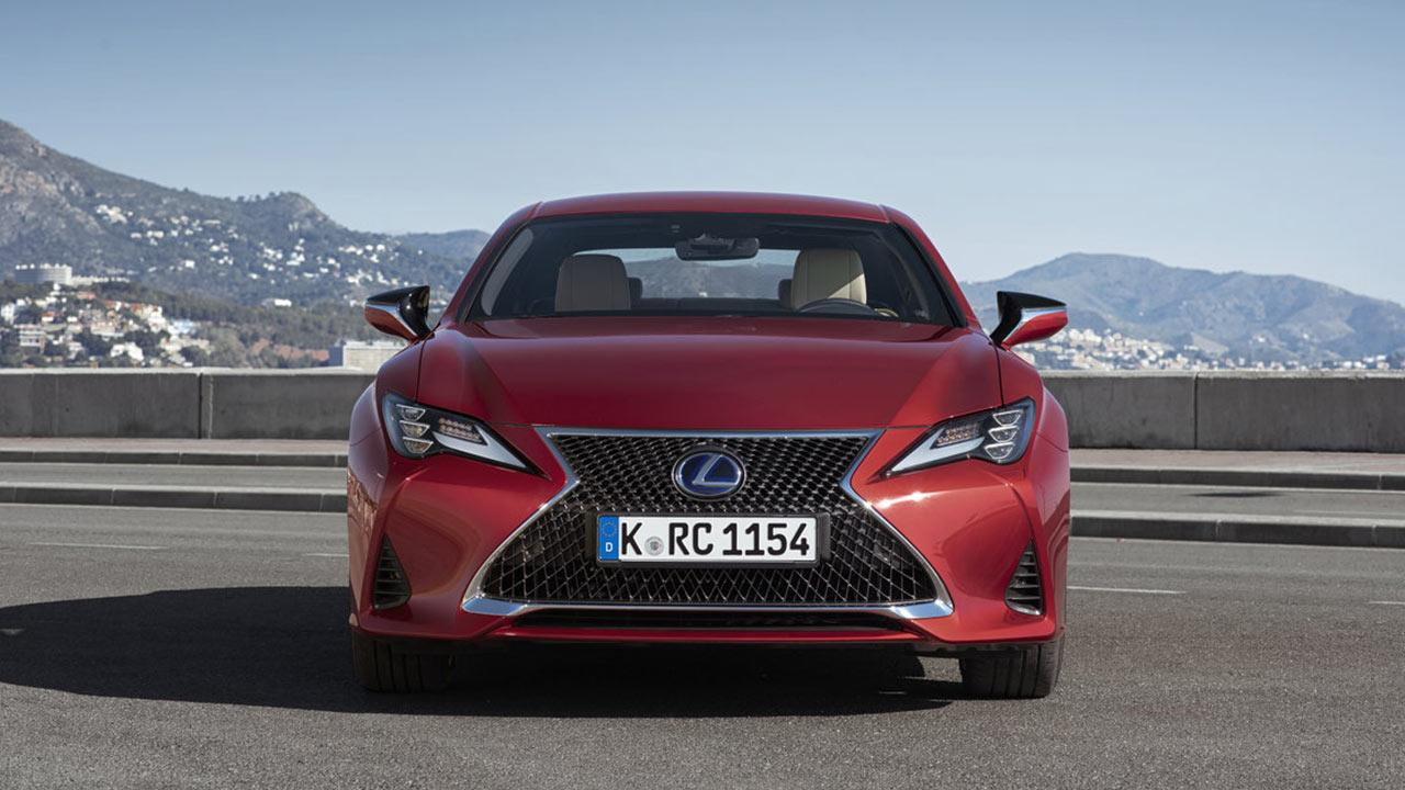 Lexus RC - Frontansicht