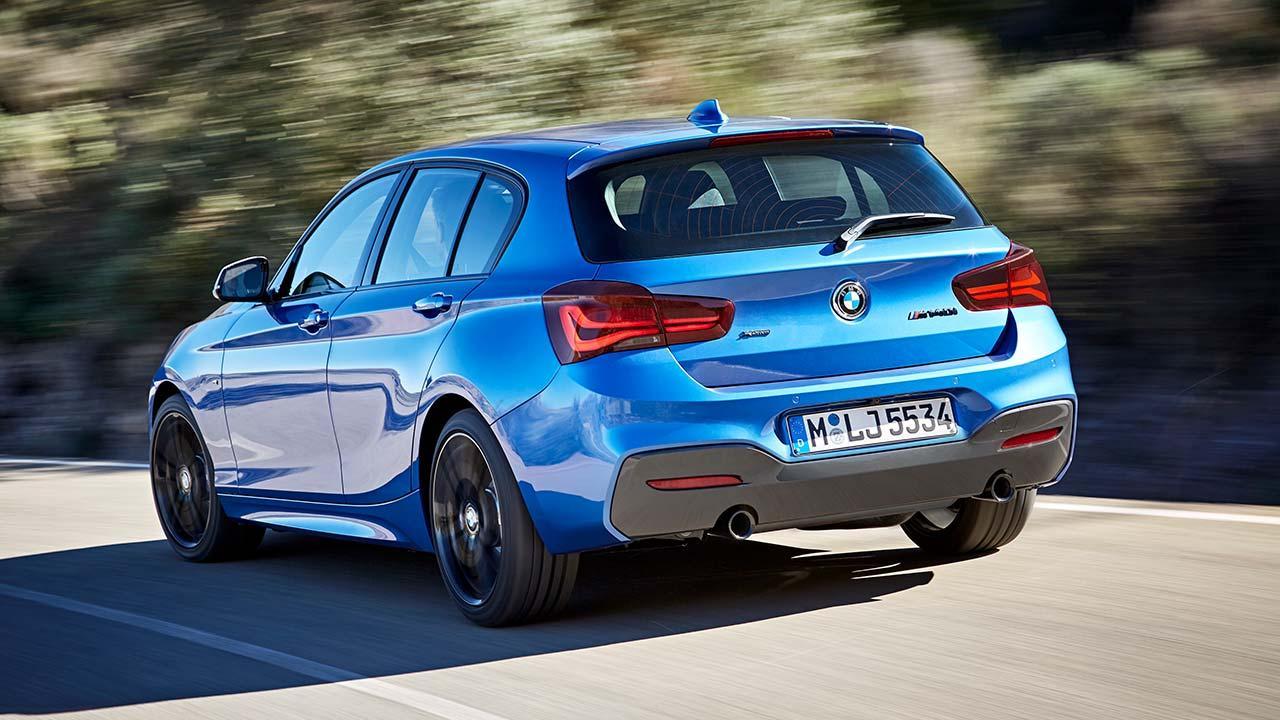 BMW 1er - Heckansicht