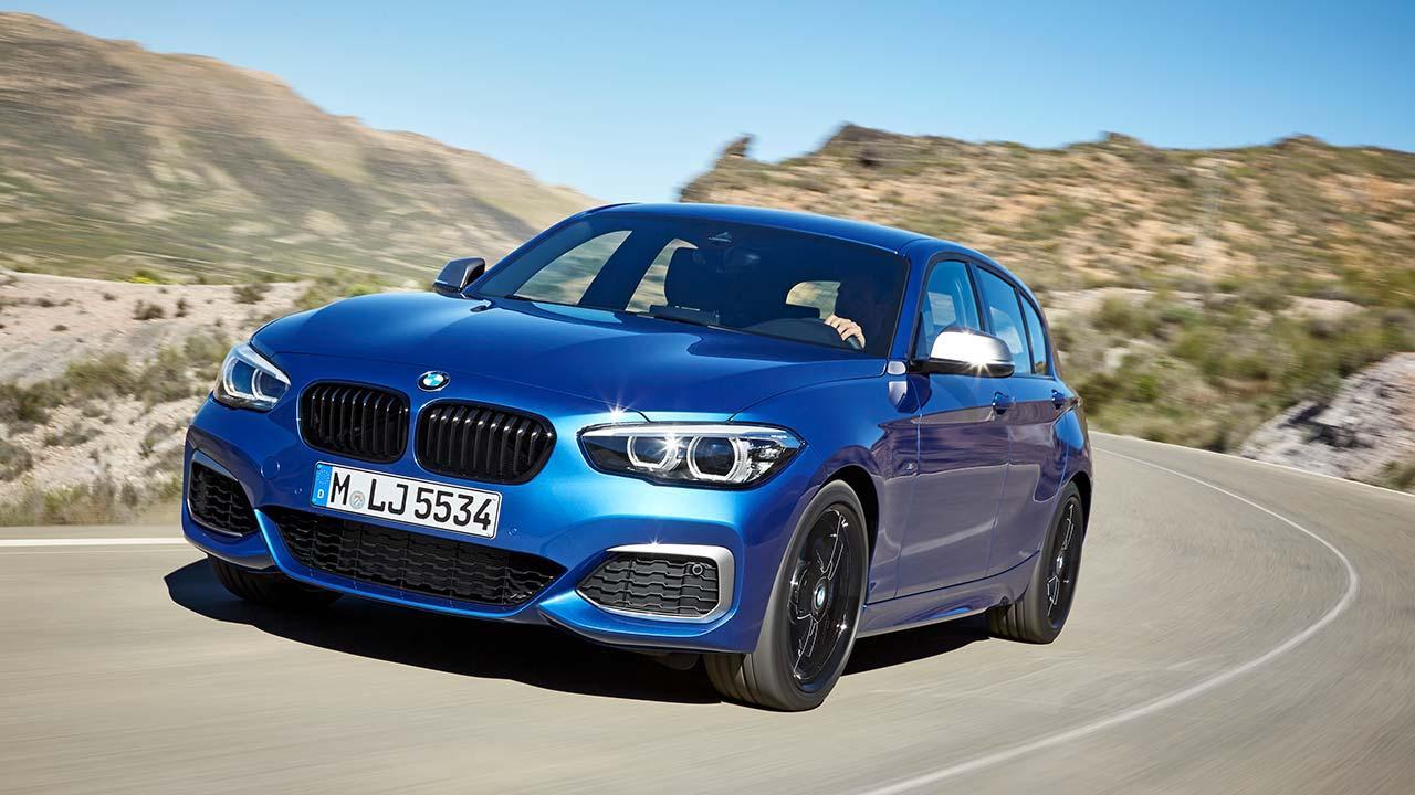 BMW 1er - in voller Fahrt