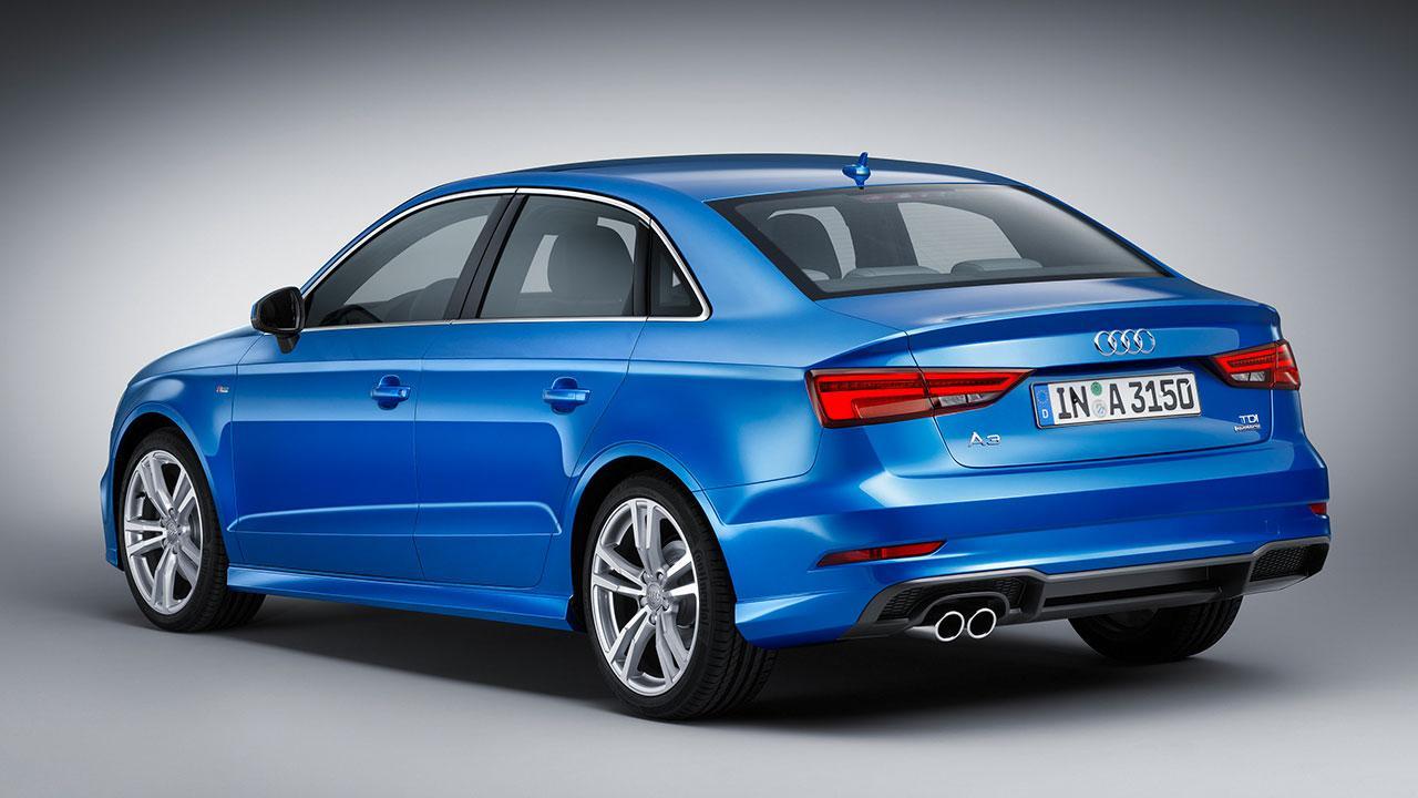 Audi A3 Limousine - Heckansicht