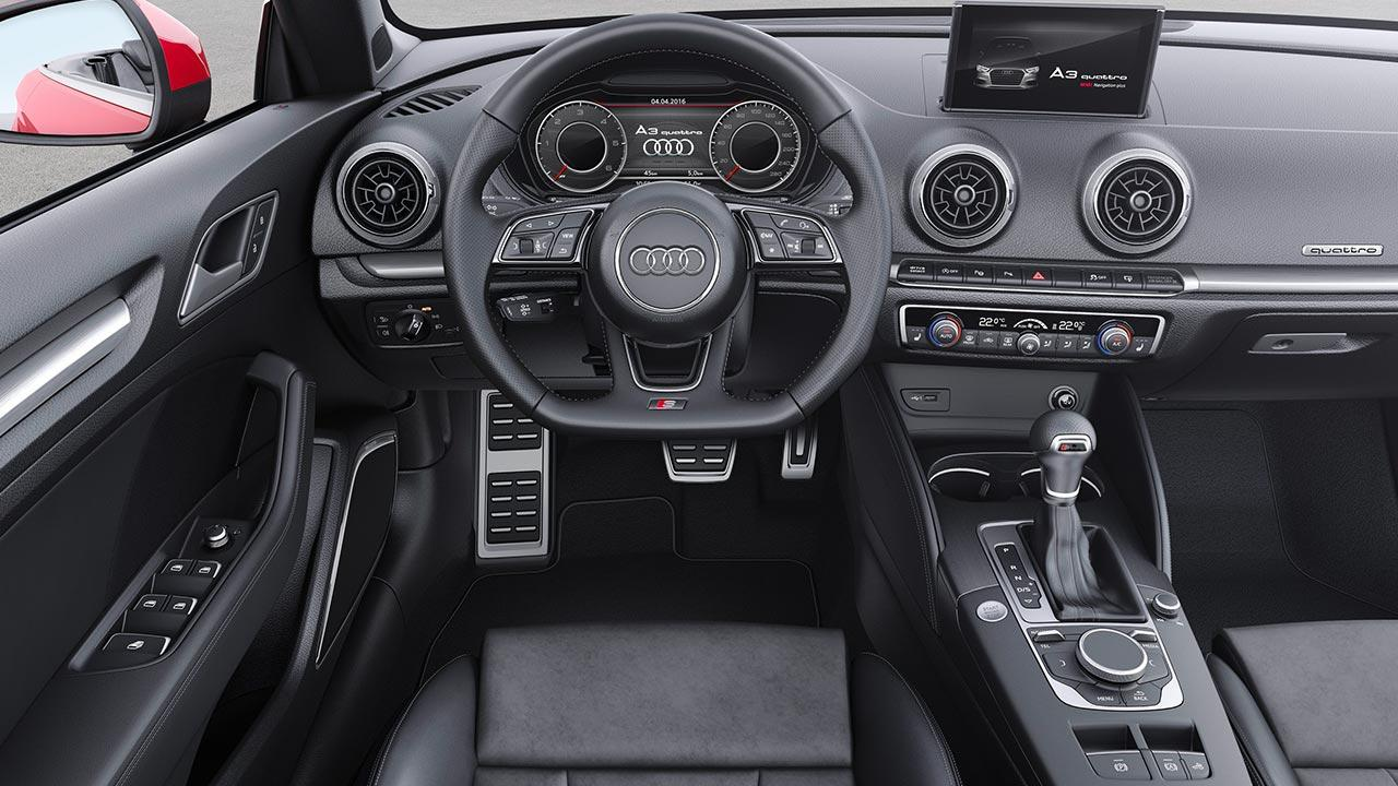 Audi A3 Cabriolet - Cockpit