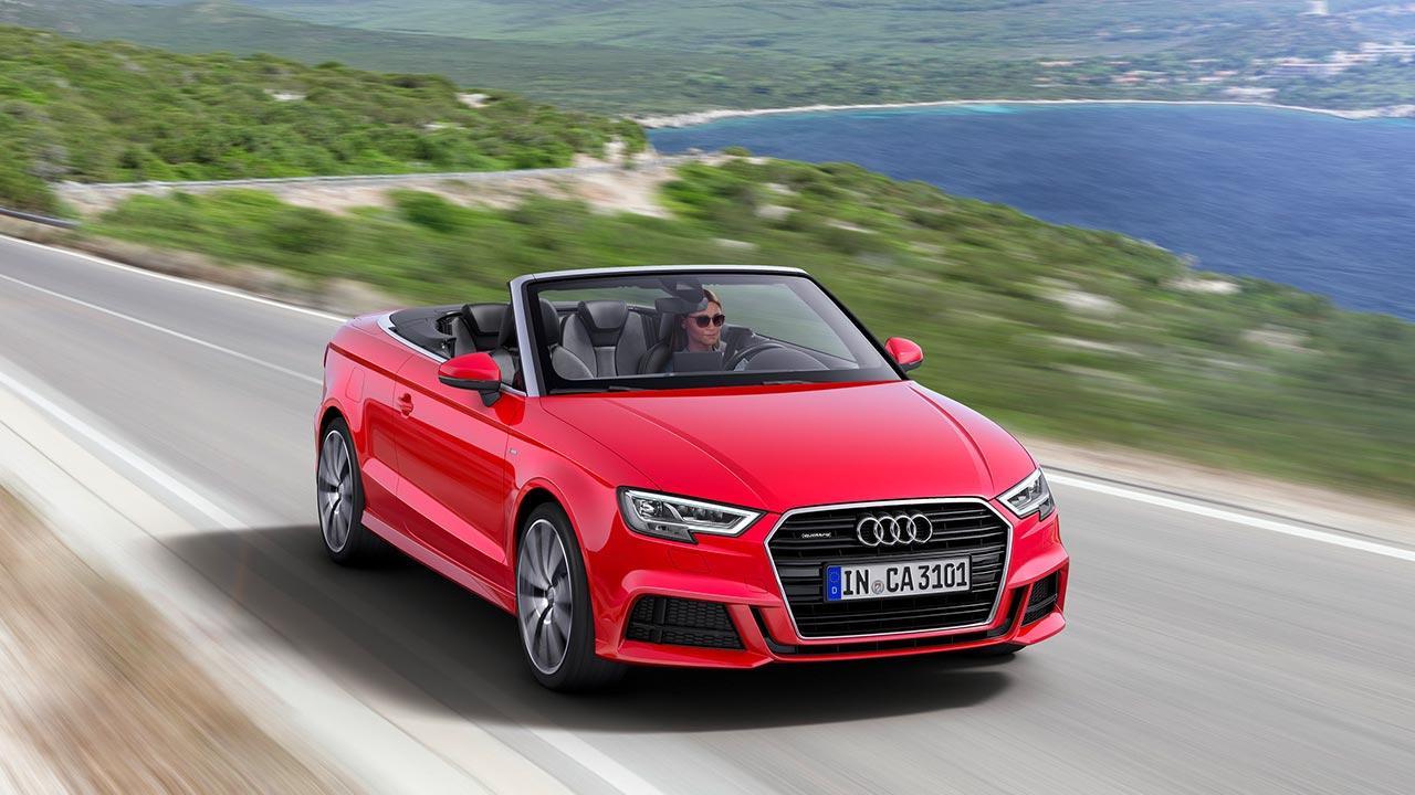 Audi A3 Cabriolet - in voller Fahrt