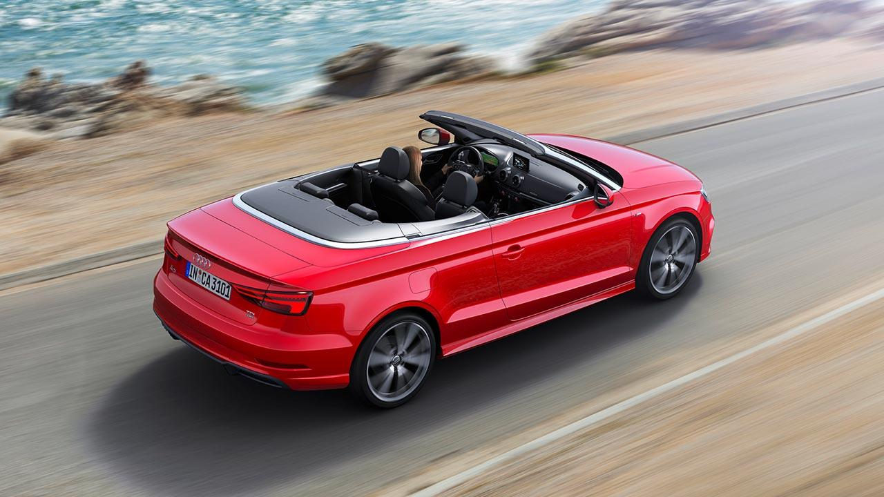 Audi A3 Cabriolet - Luftaufnahme