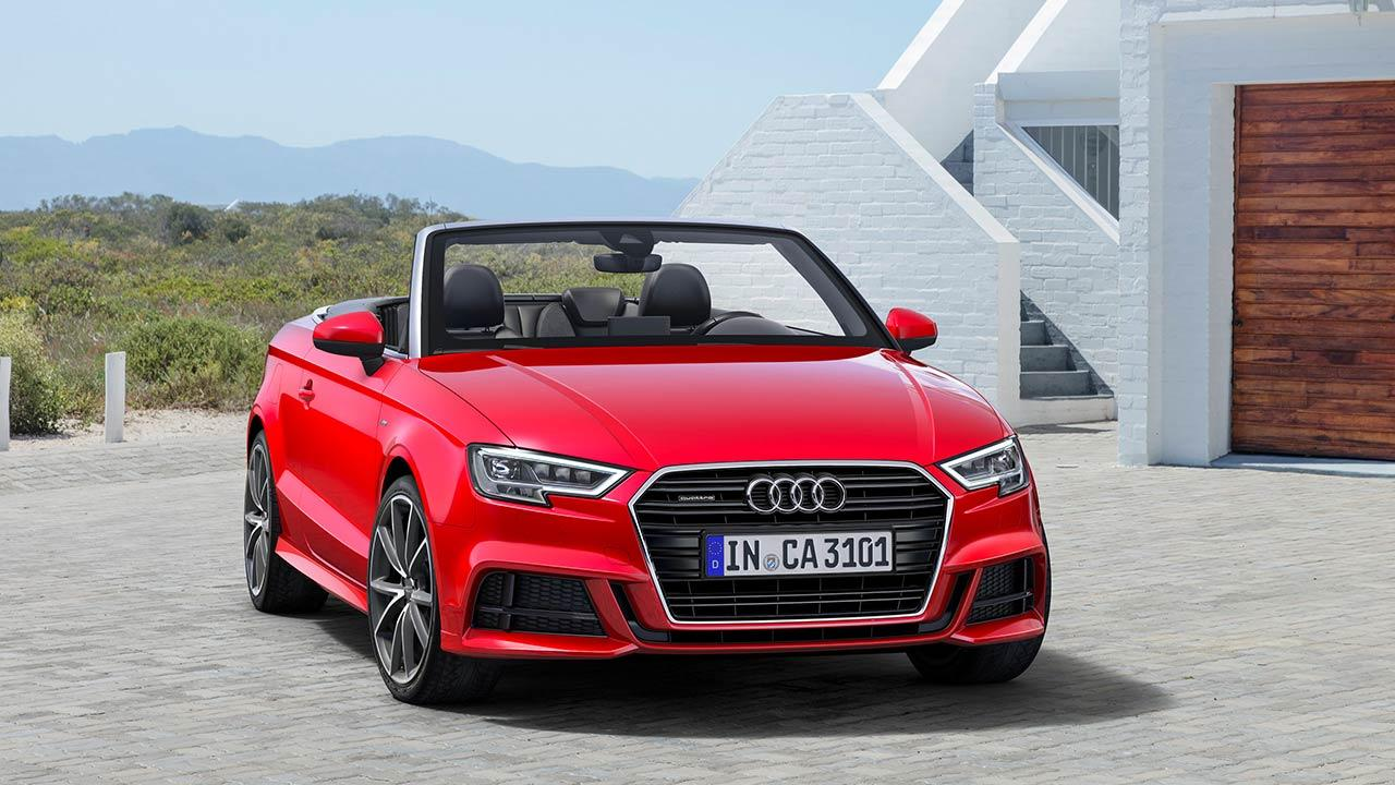 Audi A3 Cabriolet - Frontansicht