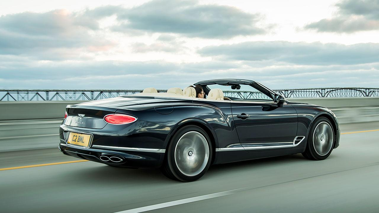 Bentley NEW Continental GT Convertible - Heckansicht