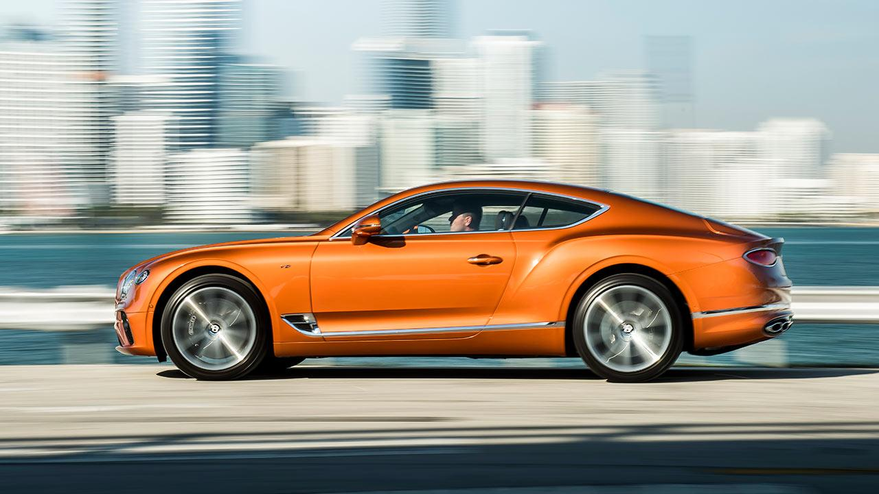Bentley NEW Continental GT V8 - Seitenansicht
