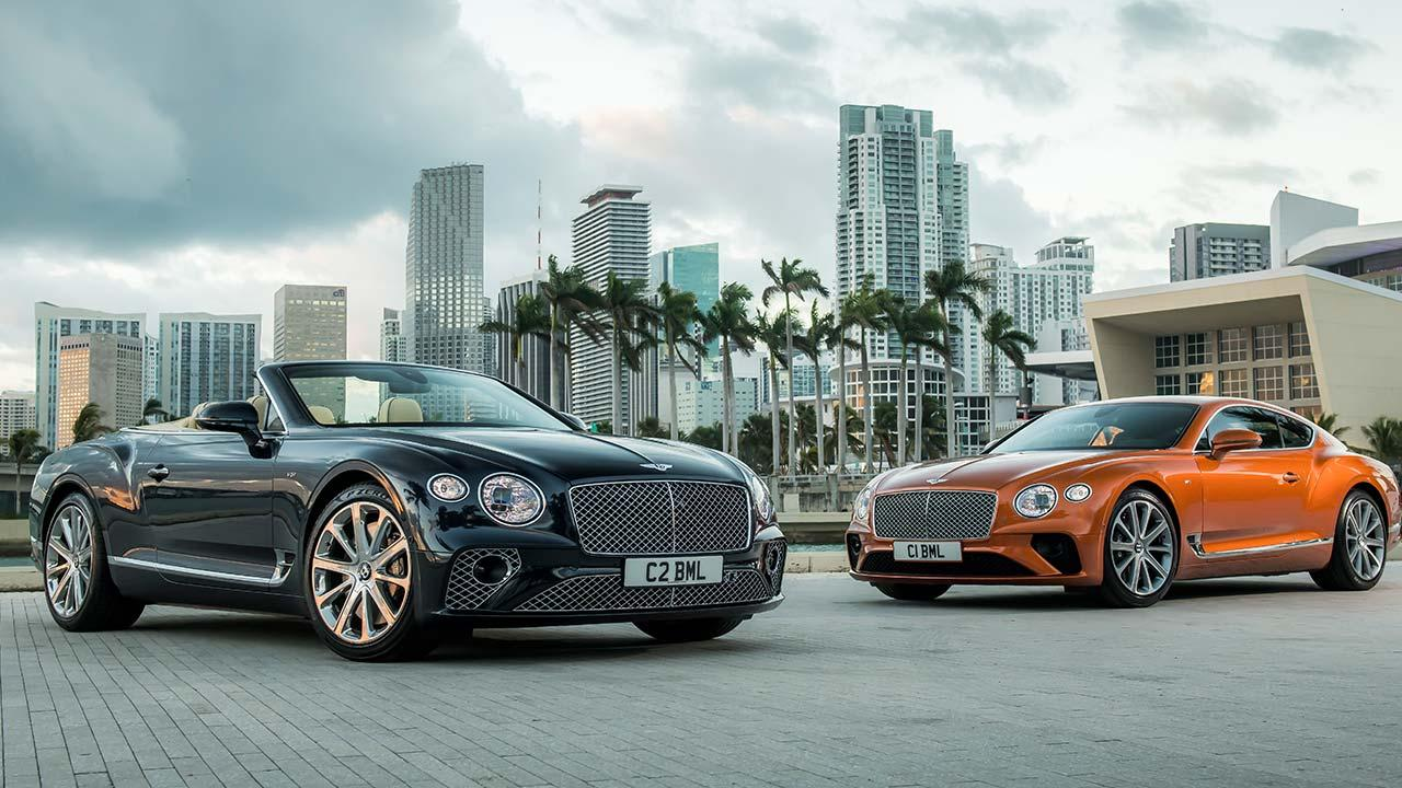 Bentley NEW Continental GT V8 Convertible - beide Modelle
