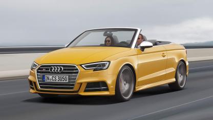 Audi S3 Cabriolet (2019) - in voller Fahrt