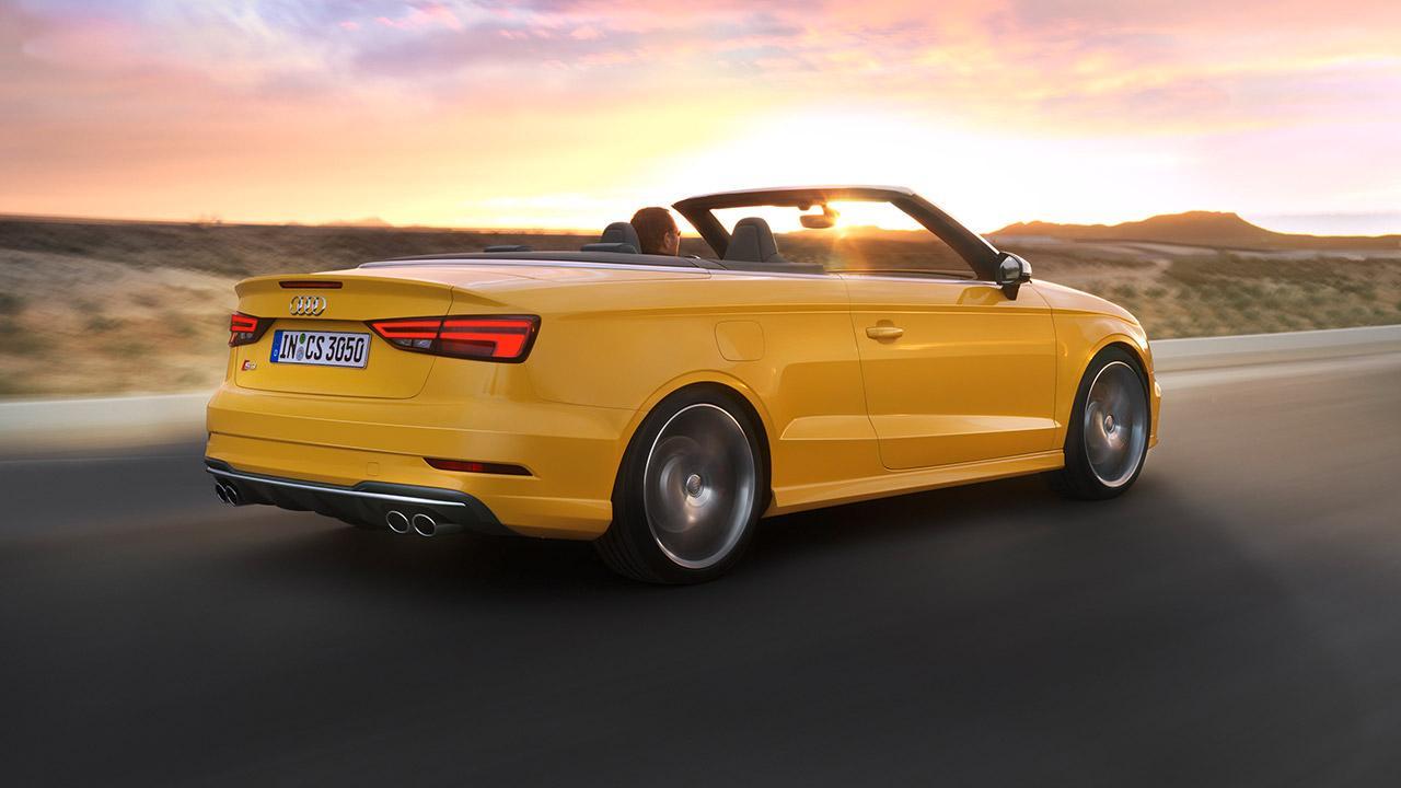 Audi S3 Cabriolet (2019) - Heckansicht