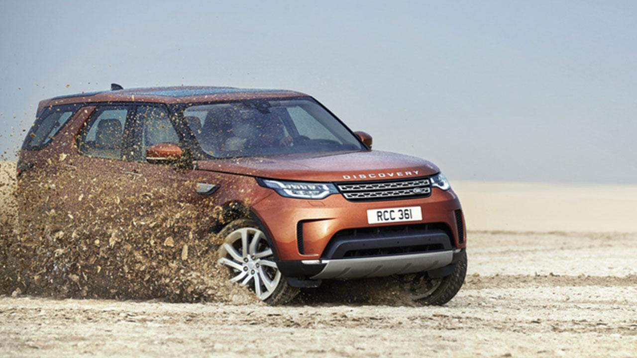 Land Rover Discovery - in voller Fahrt