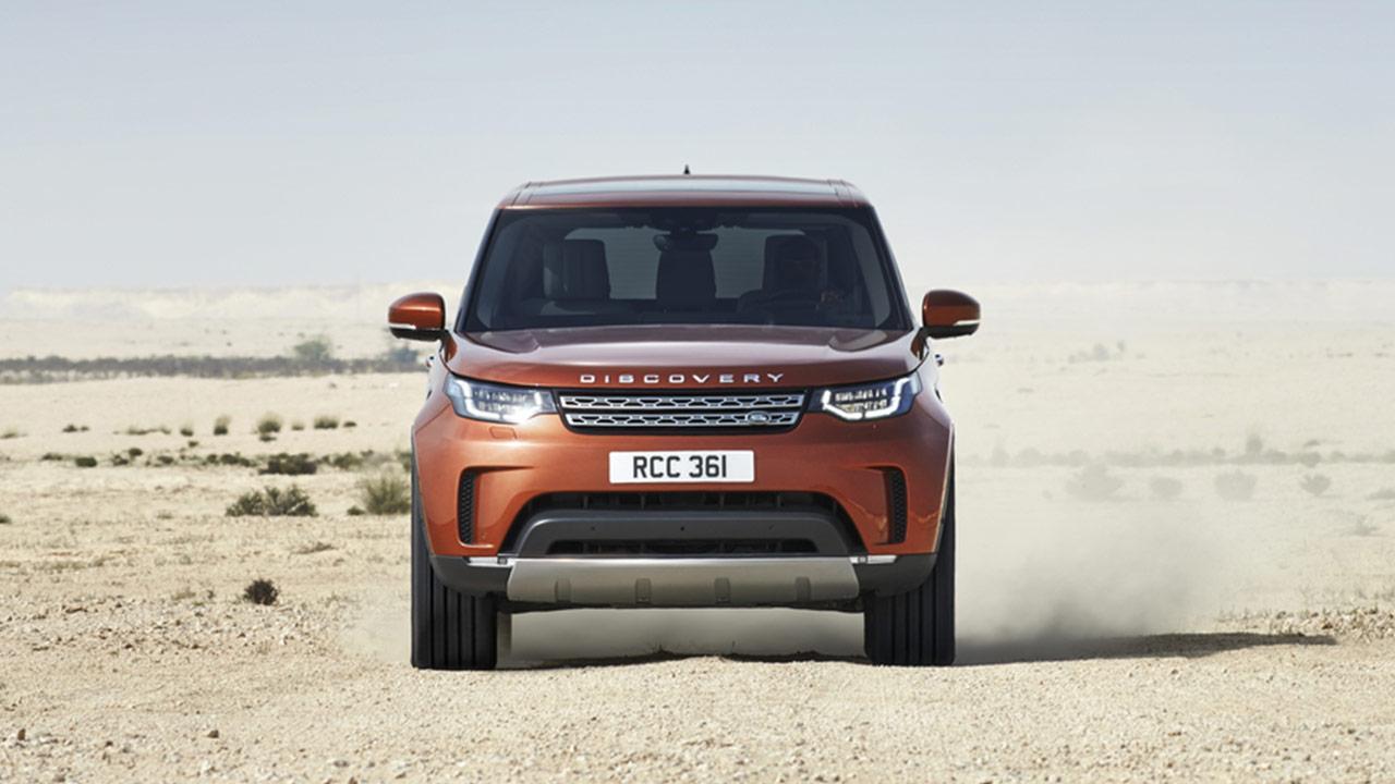 Land Rover Discovery - Vorderansicht