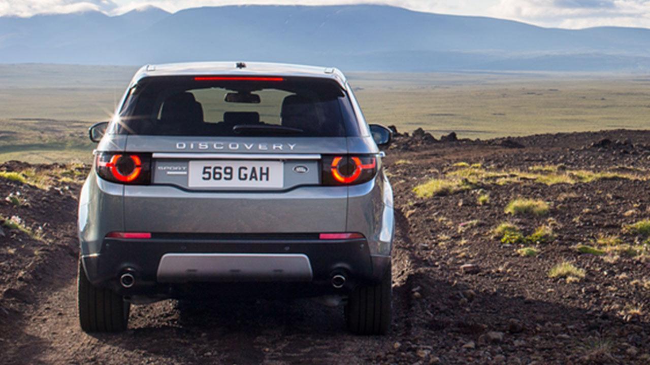 Land Rover Discovery Sport - Heckansicht