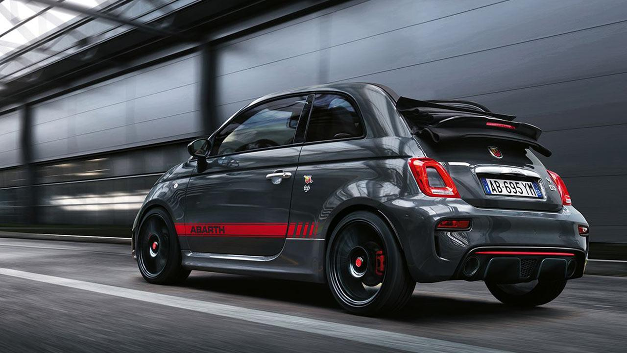 Abarth 695 XSR Yamaha - im Tunnel