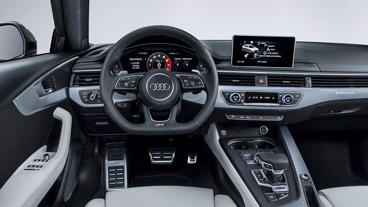 Audi RS 4 Avant 2017 - Cockpit
