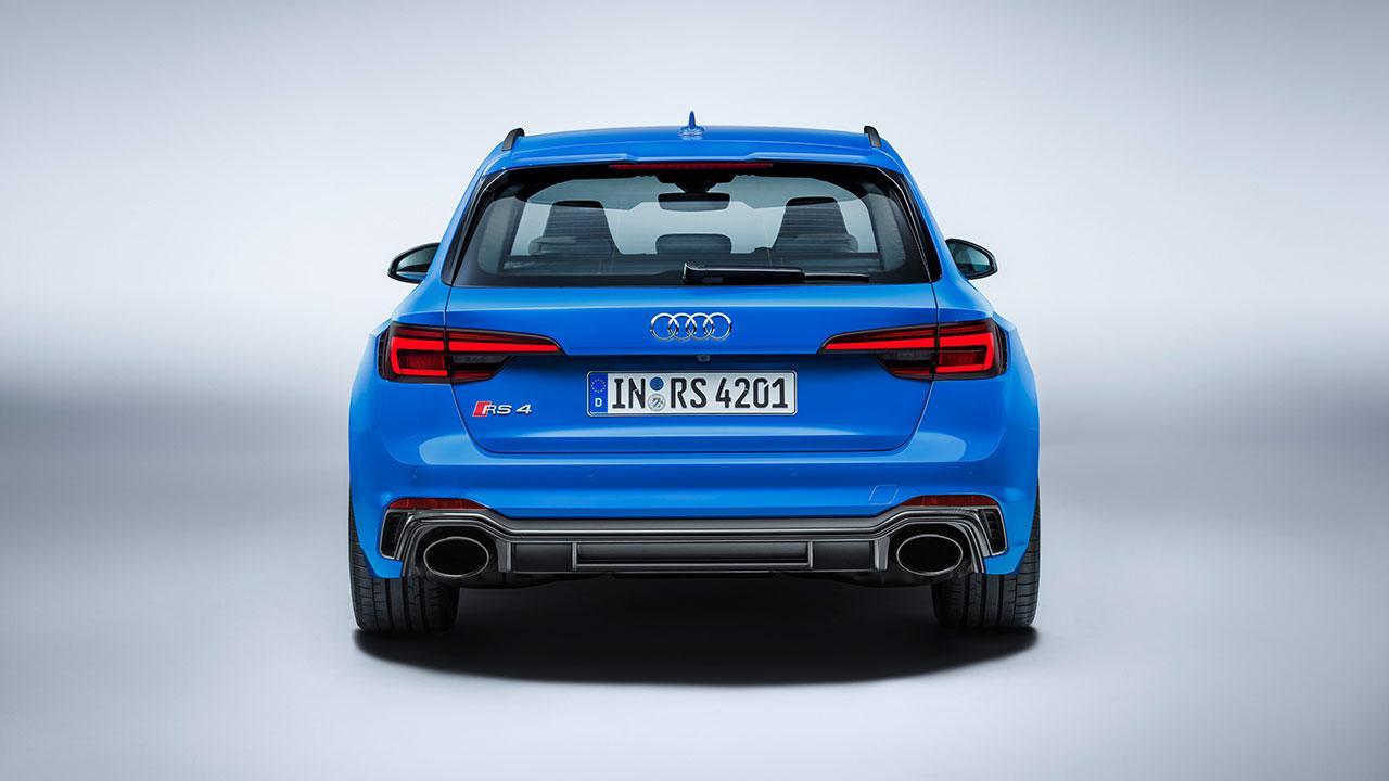 Audi RS 4 Avant 2017 - Heckansicht