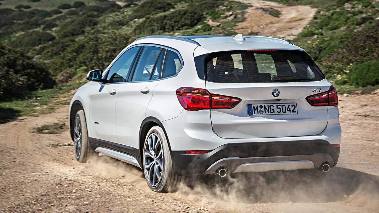 BMW X1 - Heckansicht