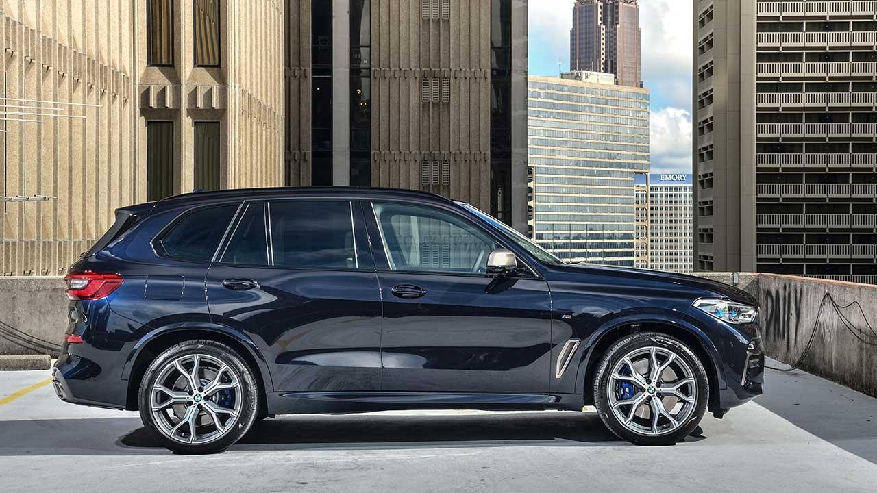 BMW X5 M50d - Seitenansicht