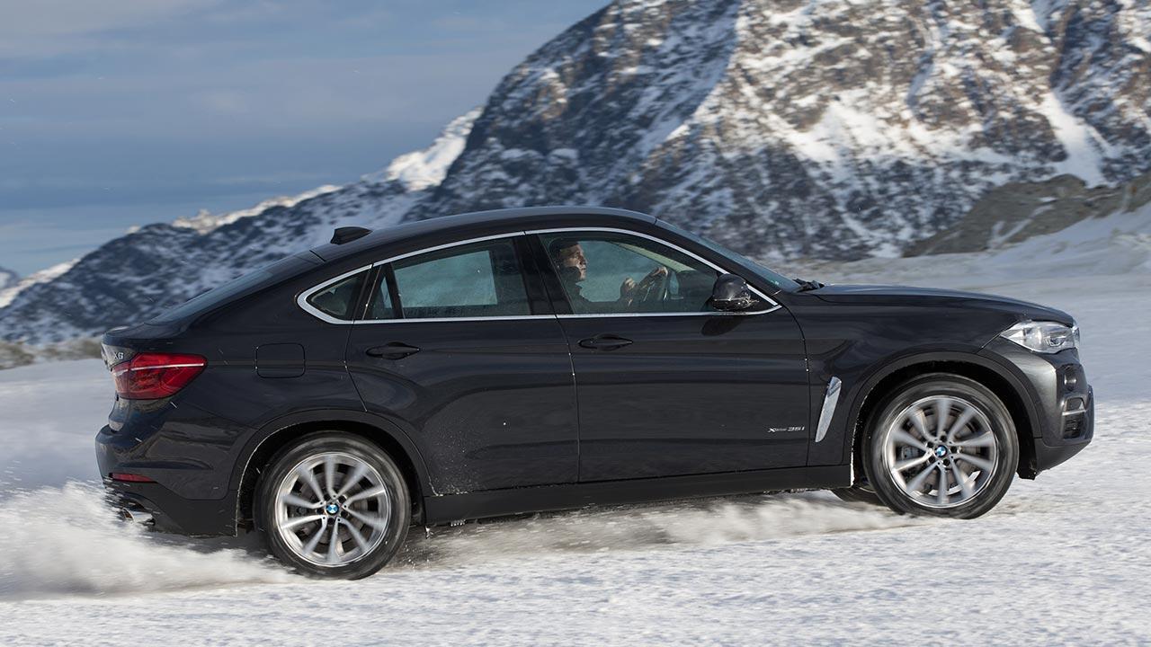 BMW X6 - im Schnee