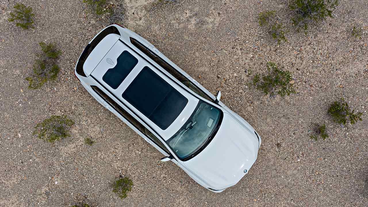 BMW X7 - Vogelperspektive