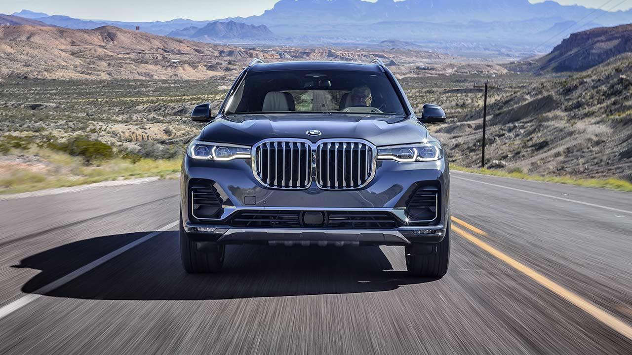 BMW X7 - Frontansicht