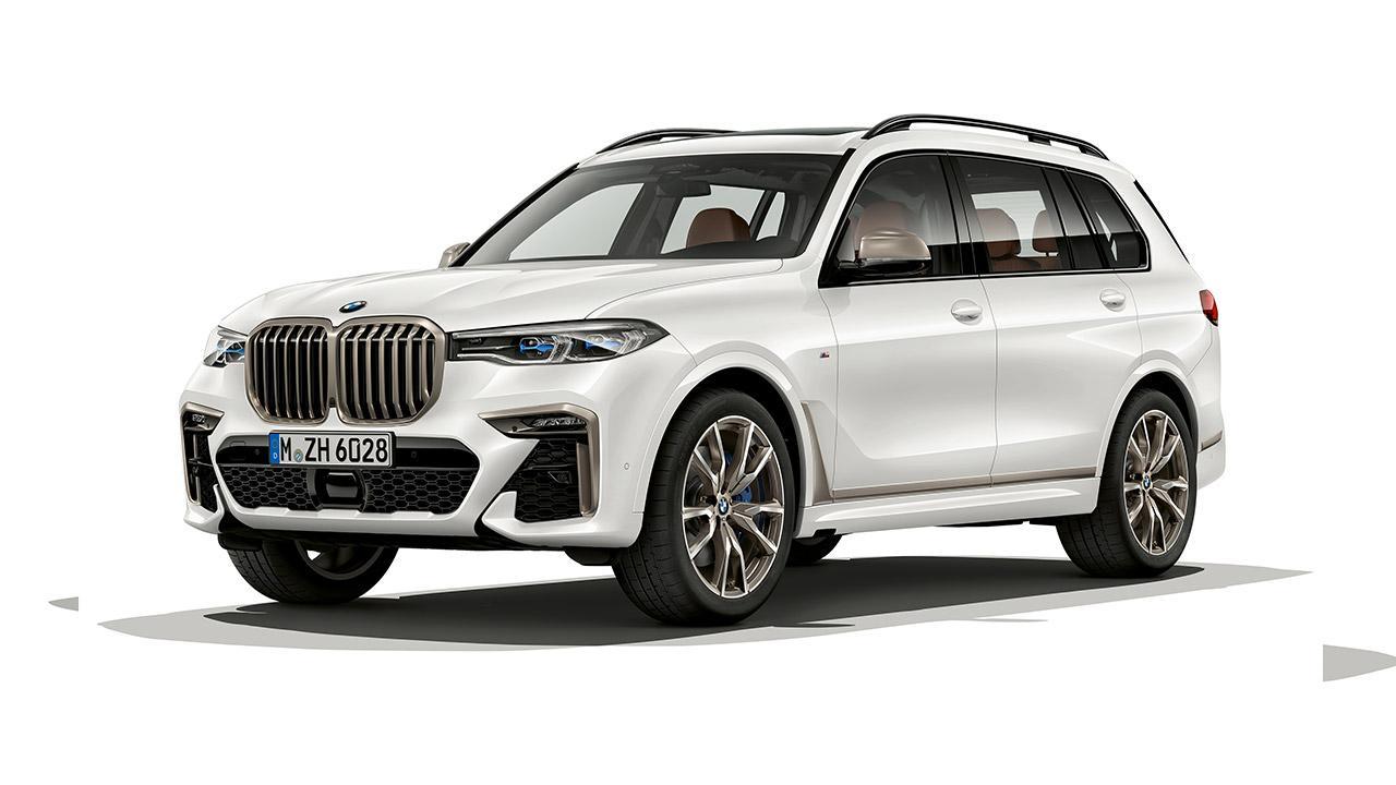 BMW X7 - Seitenansicht