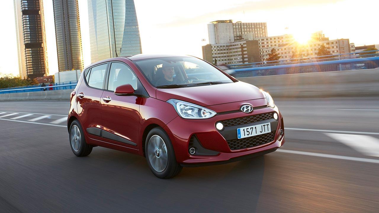 Hyundai i20 - in voller Fahrt