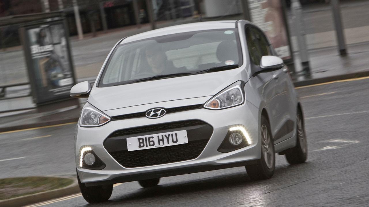 Hyundai i20 - im Verkehr
