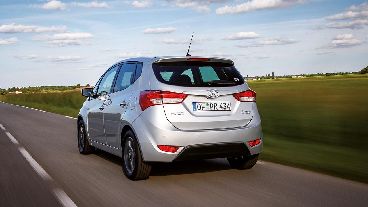 Hyundai ix20 - von hinten gesehen